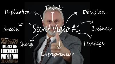 Secret #1: Think Like an Entrepreneur