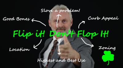 Flip It! Don't Flop it!