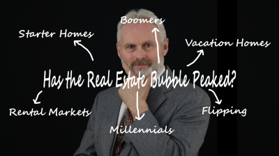 Has the Real Estate Bubble Peaked?
