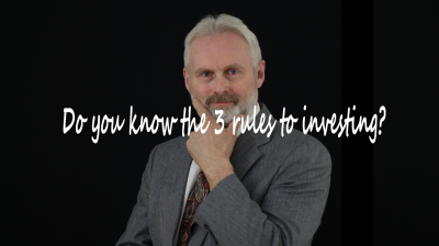 Do you know the 3 rules to investing?