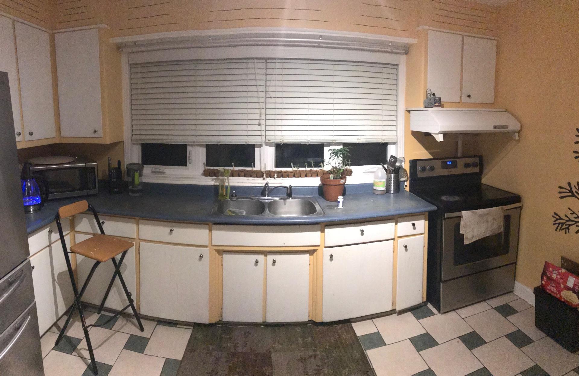 Original Sink & countertop
