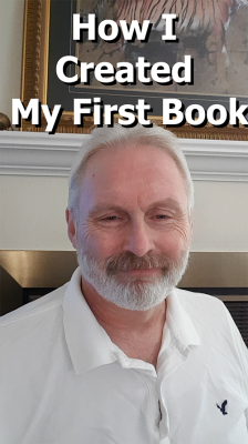 How I created my first book