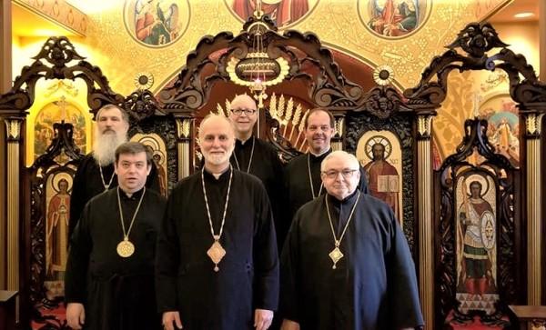 UKRAINIAN CATHOLIC HIERARCHS IN THE USA MEET WITH NEW METROPOLITAN-ARCHBISHOP BORYS GUDZIAK