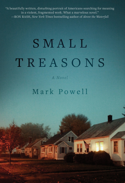 Author Mark Powell's Small Treasons