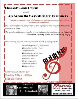 Acapella Workshop for Beginners!
