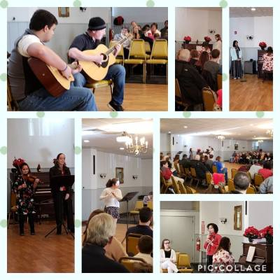 Rhapsody Music Lesson's Winter Concert, 2018
