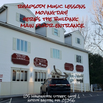 Rhapsody Music Lessons Open In New Location!