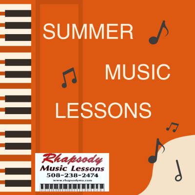 Benefits of Music Lessons Over the Summer: Less to do = more time to practice.