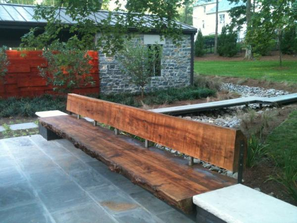 Red Oak and Metal