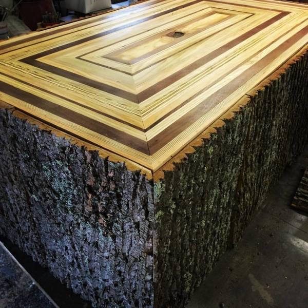 Multi-wood and Bark