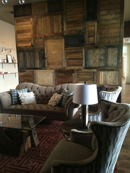 Multi Wood Feature Wall