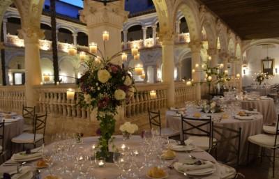 Flores en el Monasterio de Lupiana