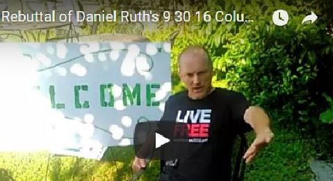 Rebuttal of Daniel Ruth's 9 30 16 Column in Tampa Bay Times