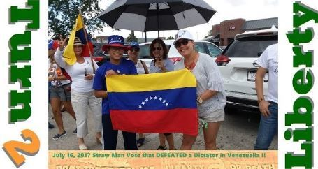 Venezuelans Vote Against Dictatorship and Communism 2017.07.16