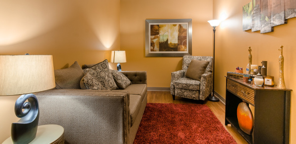 One of our beautiful Counseling Suites.