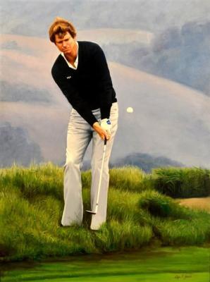 "Tom Watson - 36""x48"" Oil on Linen"