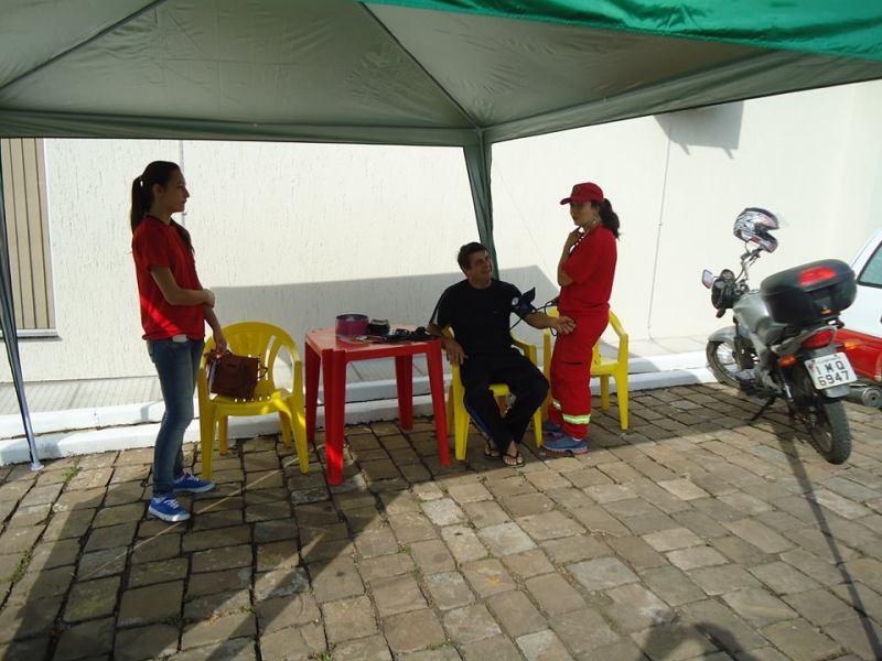 Ação comunitária em Hortêncio