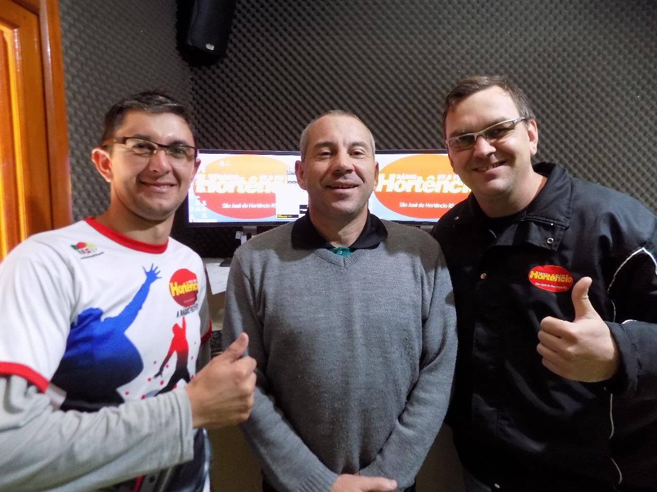 Adilson, Claudio e Marcelo