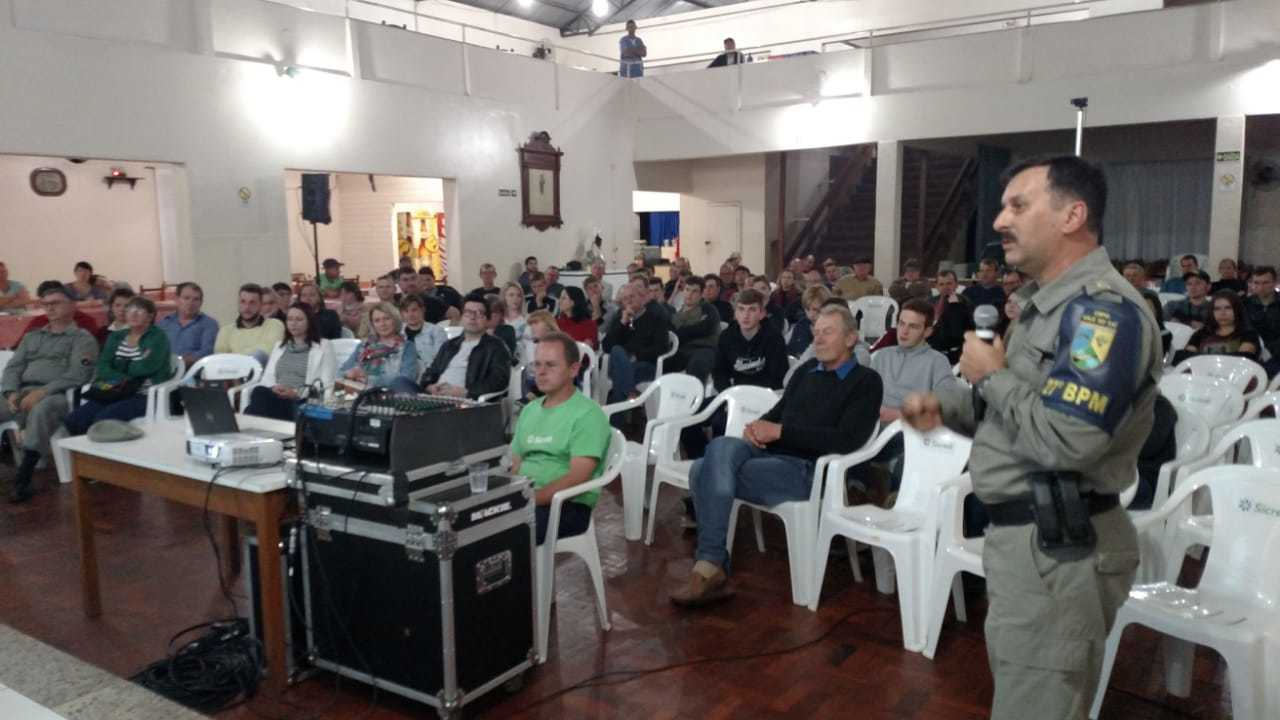 ACIS realiza palestra com Major Vargas