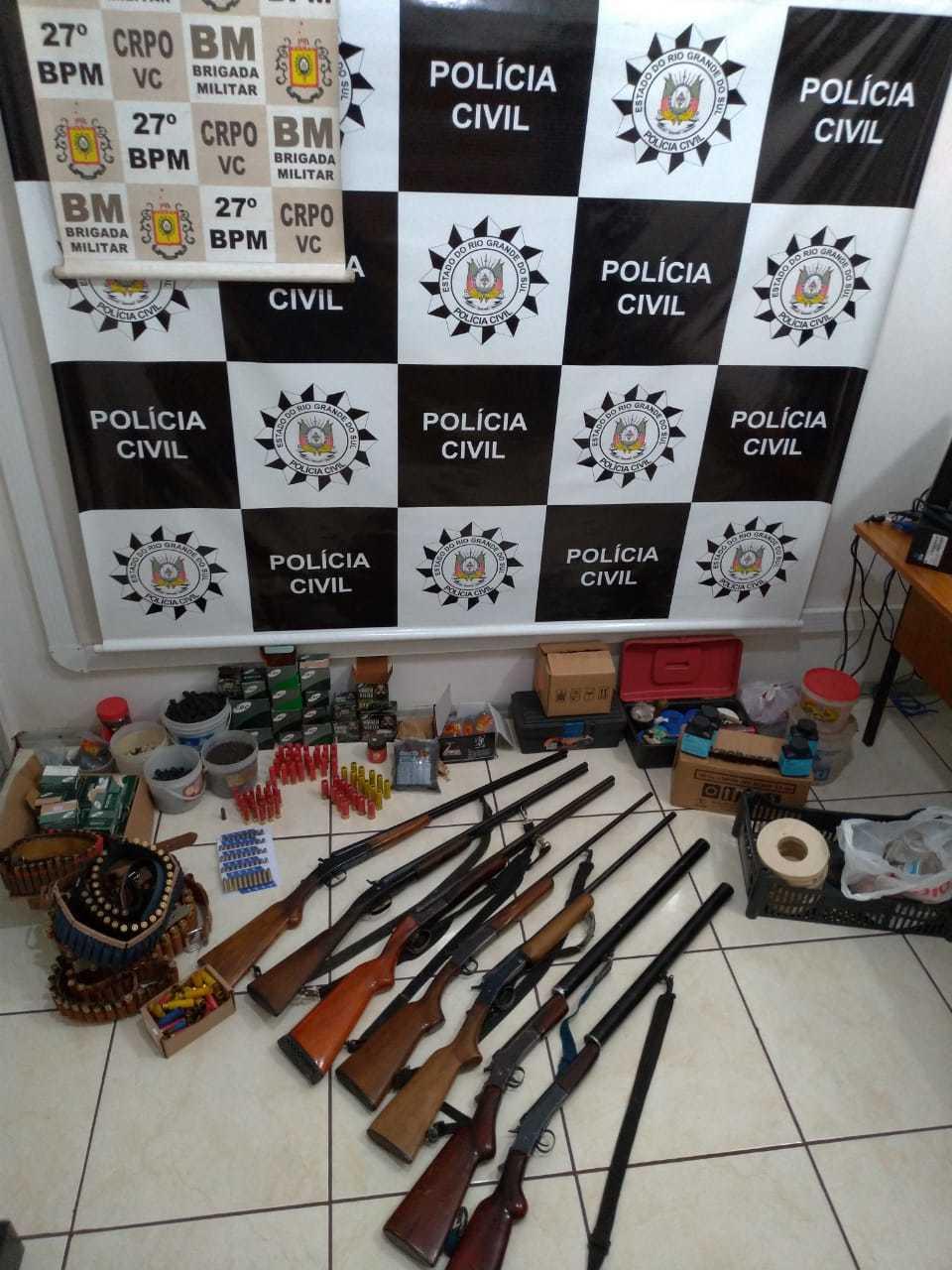 Policia de SJH realiza prisão em Capela do Rosário