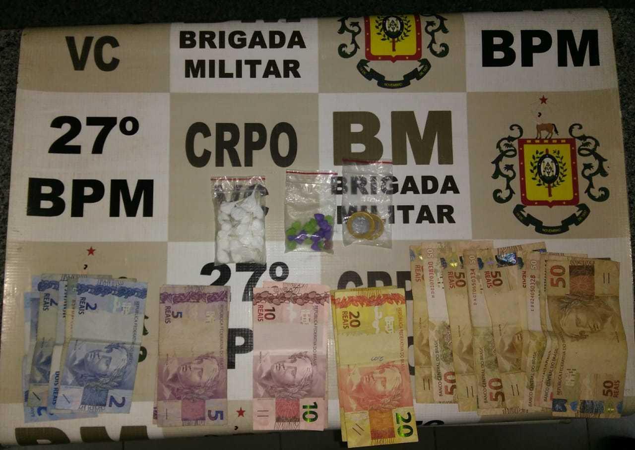 Traficante preso em São José do Hortêncio!