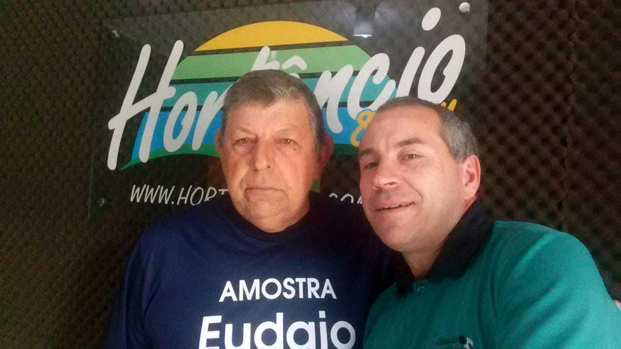 Vereador Valdir Dill visita a Rádio Hortêncio FM