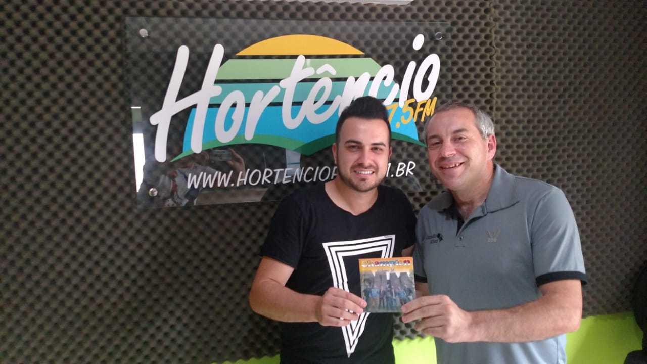 Visita de Alex Alves da Banda Champion