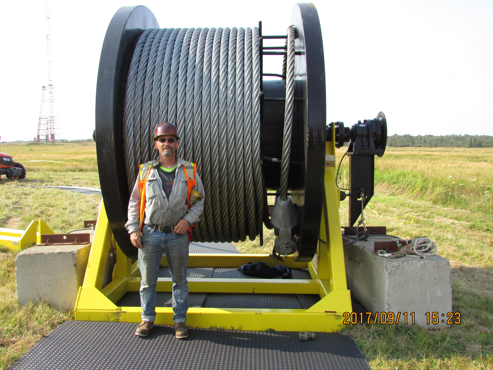42,000 LBS of Reel Cable