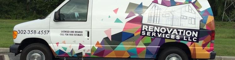 Renovation Services Van