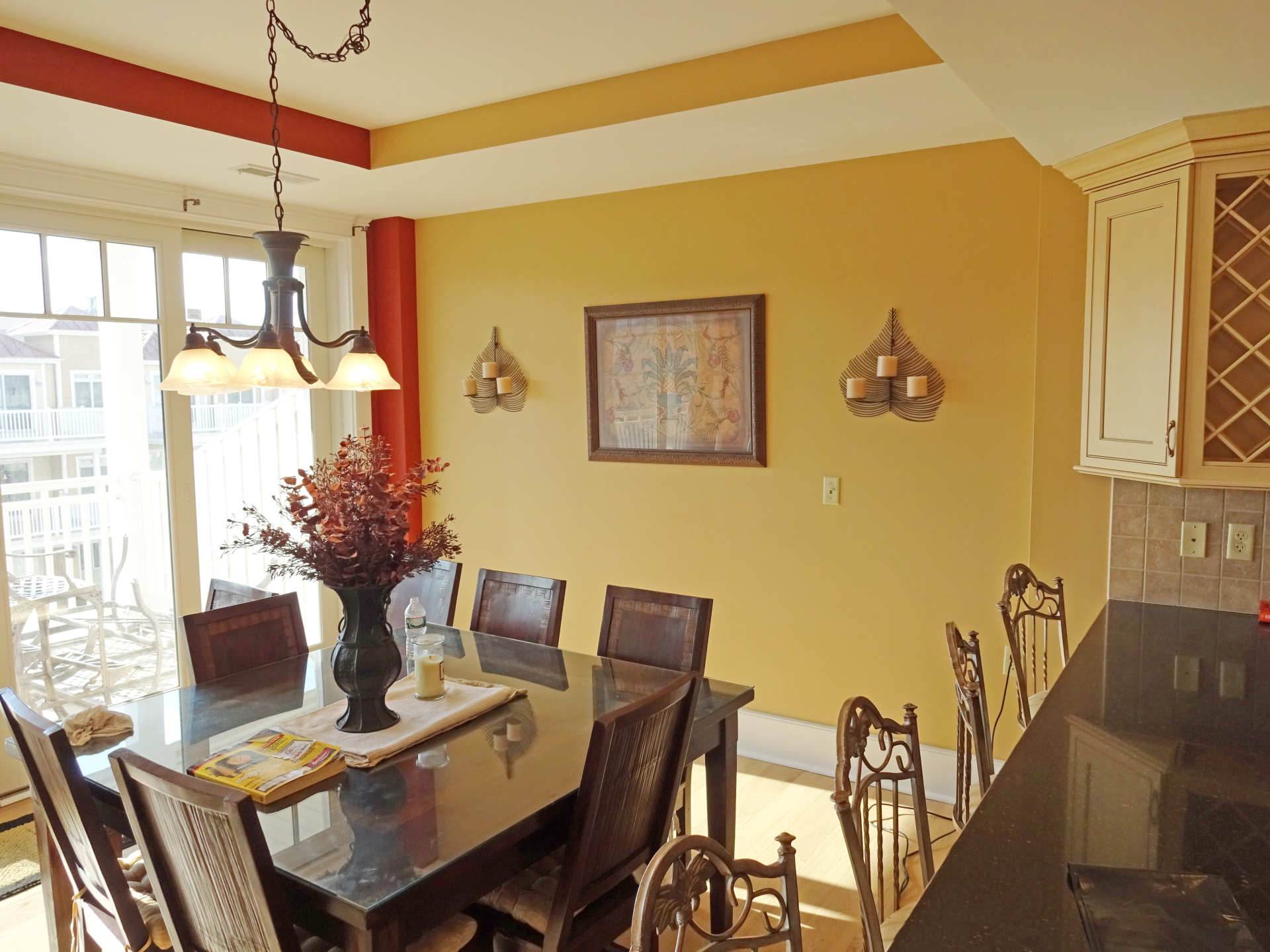 Interior Dining Room Paint Job