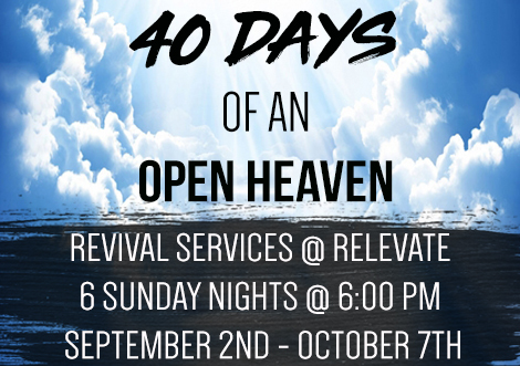 40 Days of an Open Heaven