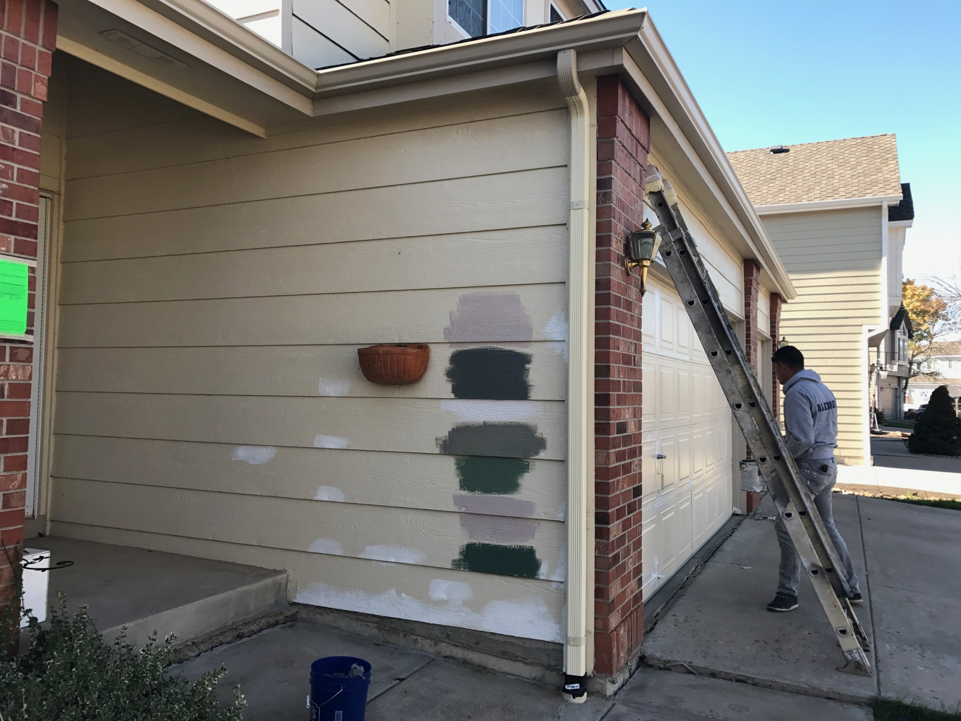 Prep for painting