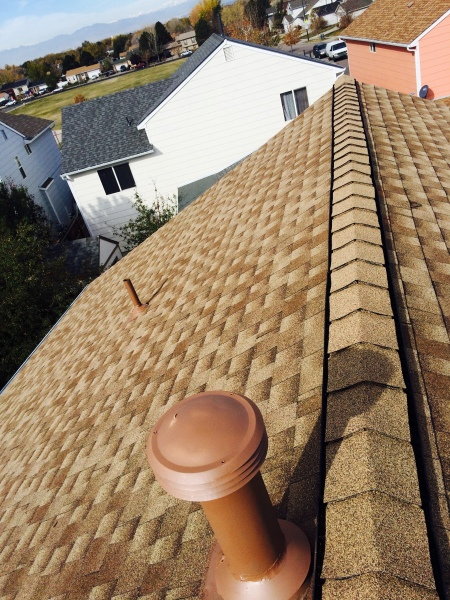 Completed. Installed ridge venting