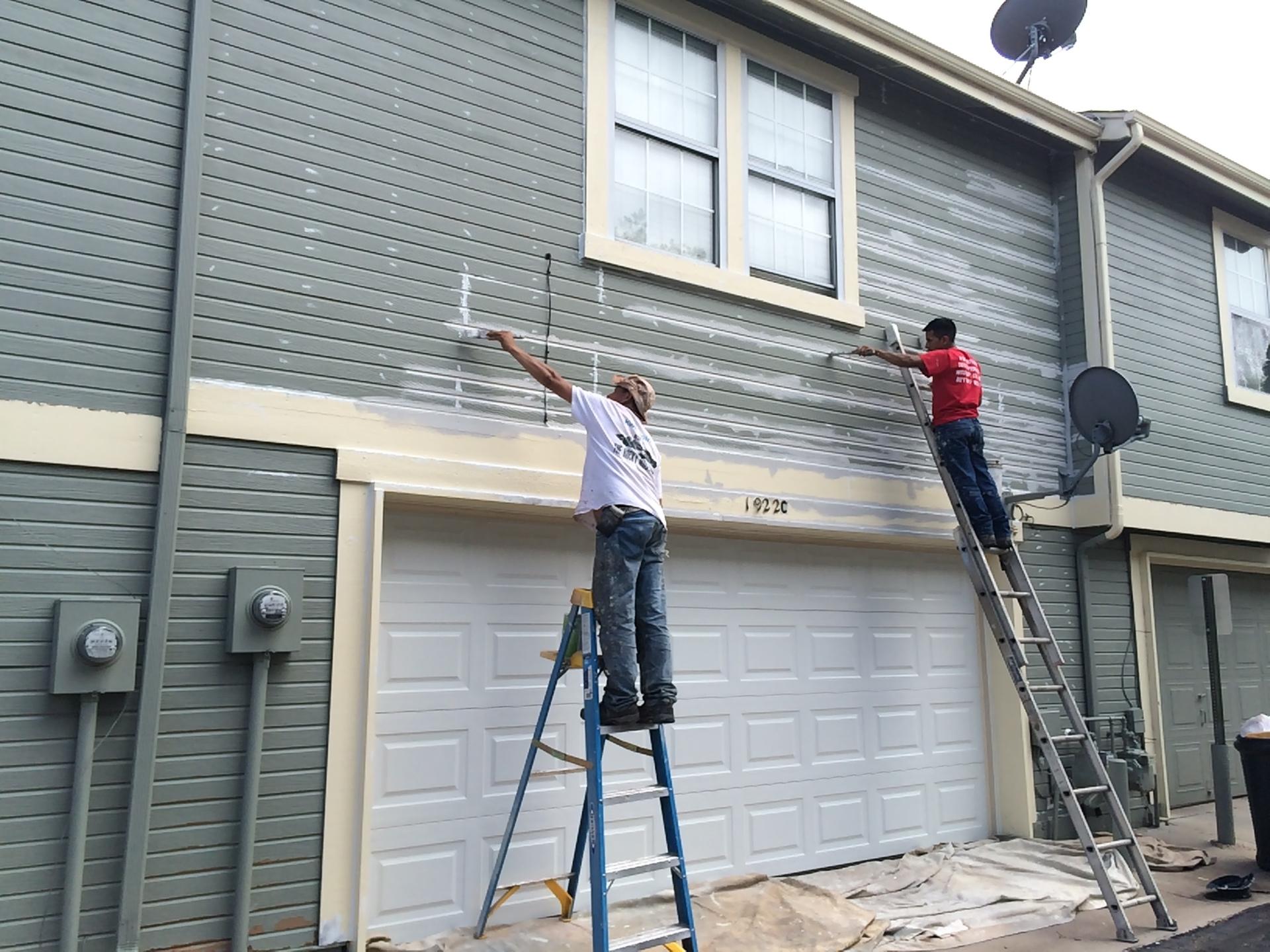 Paint job prep