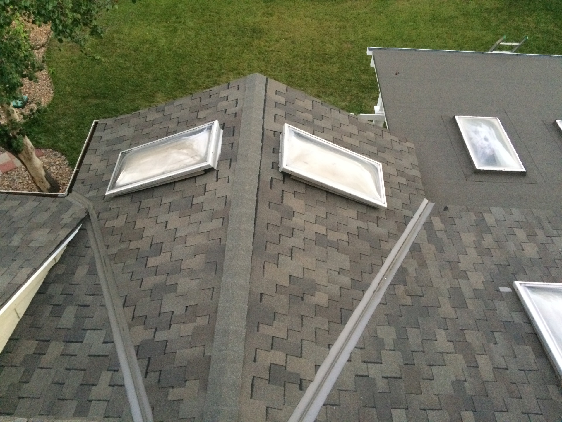 GAF Grand sequoia IR and Valley metal installed