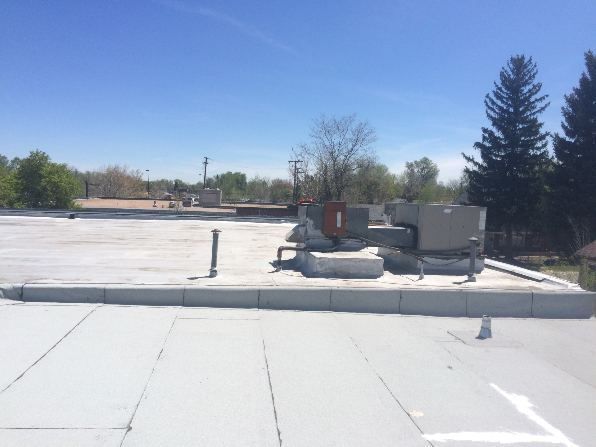 Old roofing system