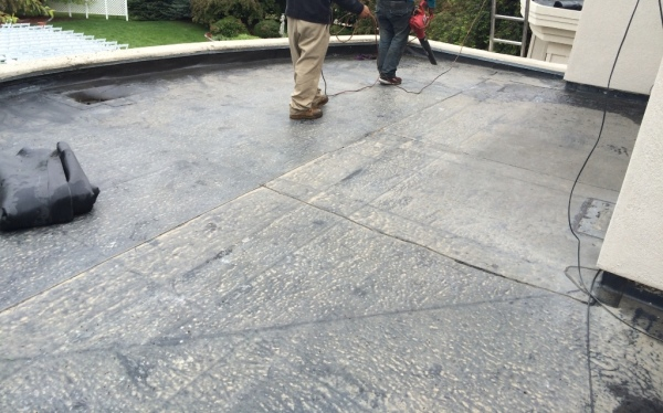 EPDM repairs for the Chateaux At Fox Meadows