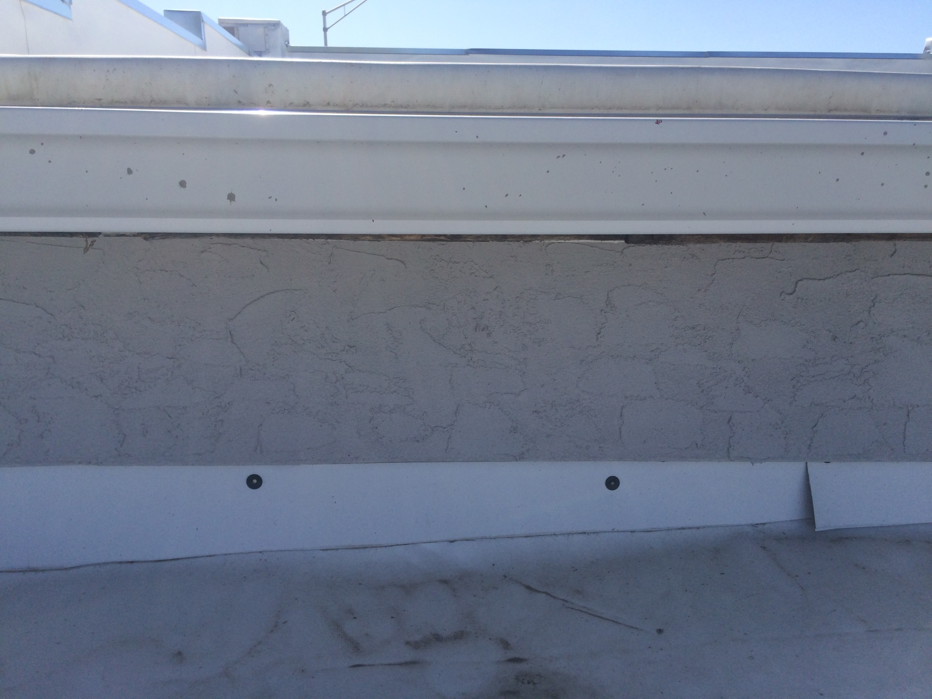 Stucco completed