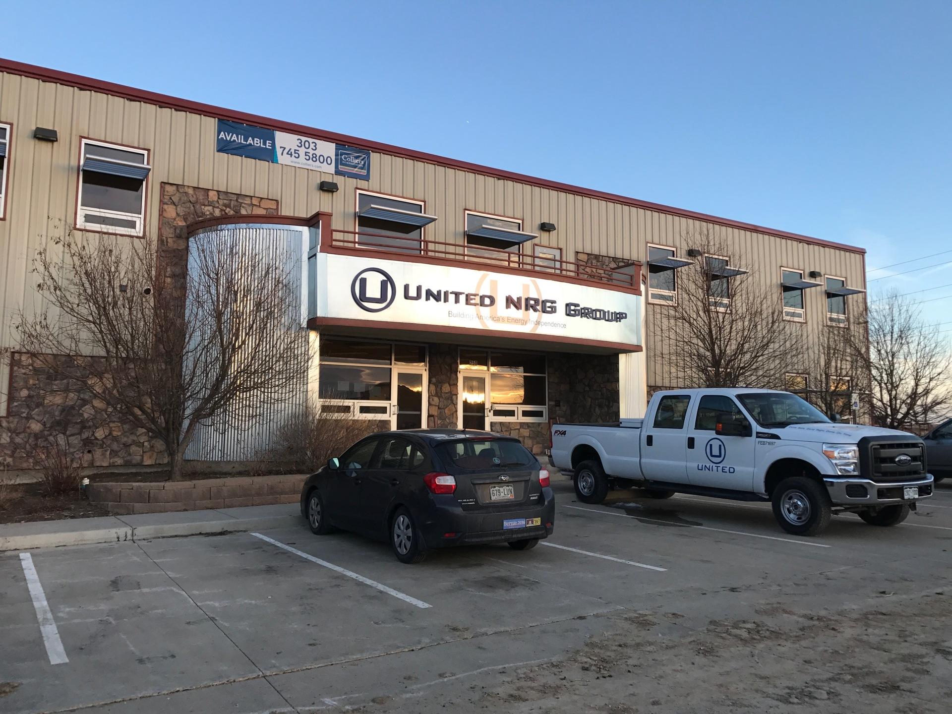 Commercial drive entrance
