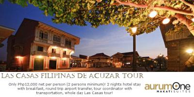 Las Casas Filipinas De Acuzar Tour