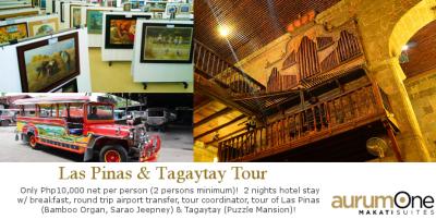 Las Pinas & Tagaytay Tour