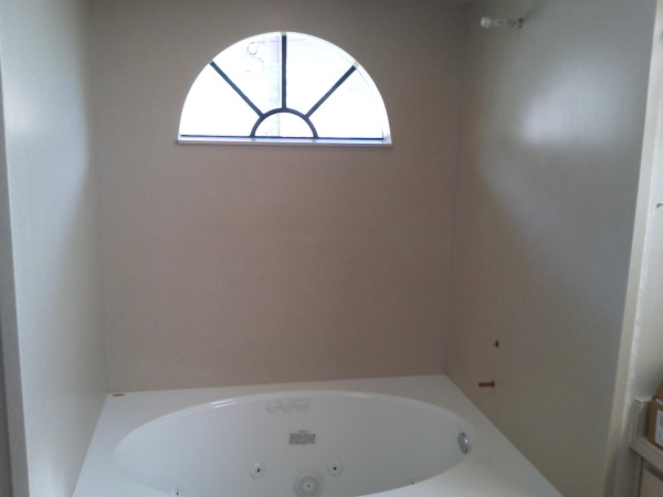 Solid Surface Tub & Shower Walls