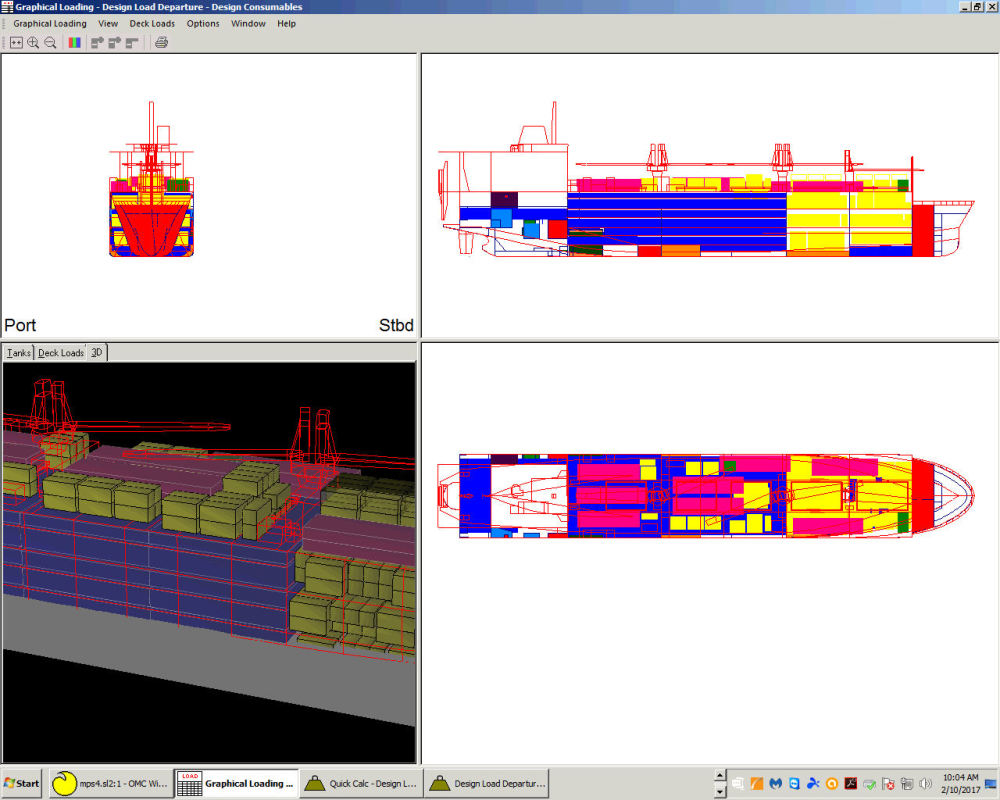 Ocean Motions Ship Stability Software, Naval Architects