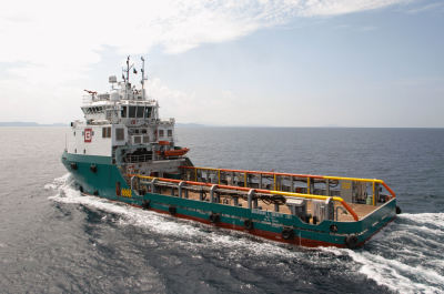 BOURBON, Guido Perla designed; 22 PSVs Platform Supply Vessels; 54 AHTS, Anchor Handlers