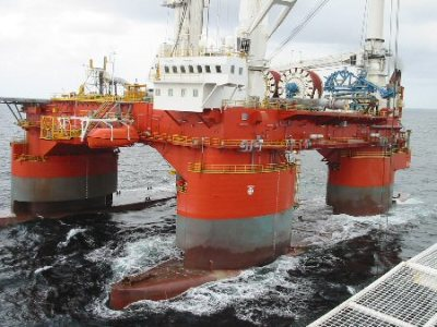 HELIX ENERGY, UNCLE JOHN semi; Aker and Houlder Offshore design