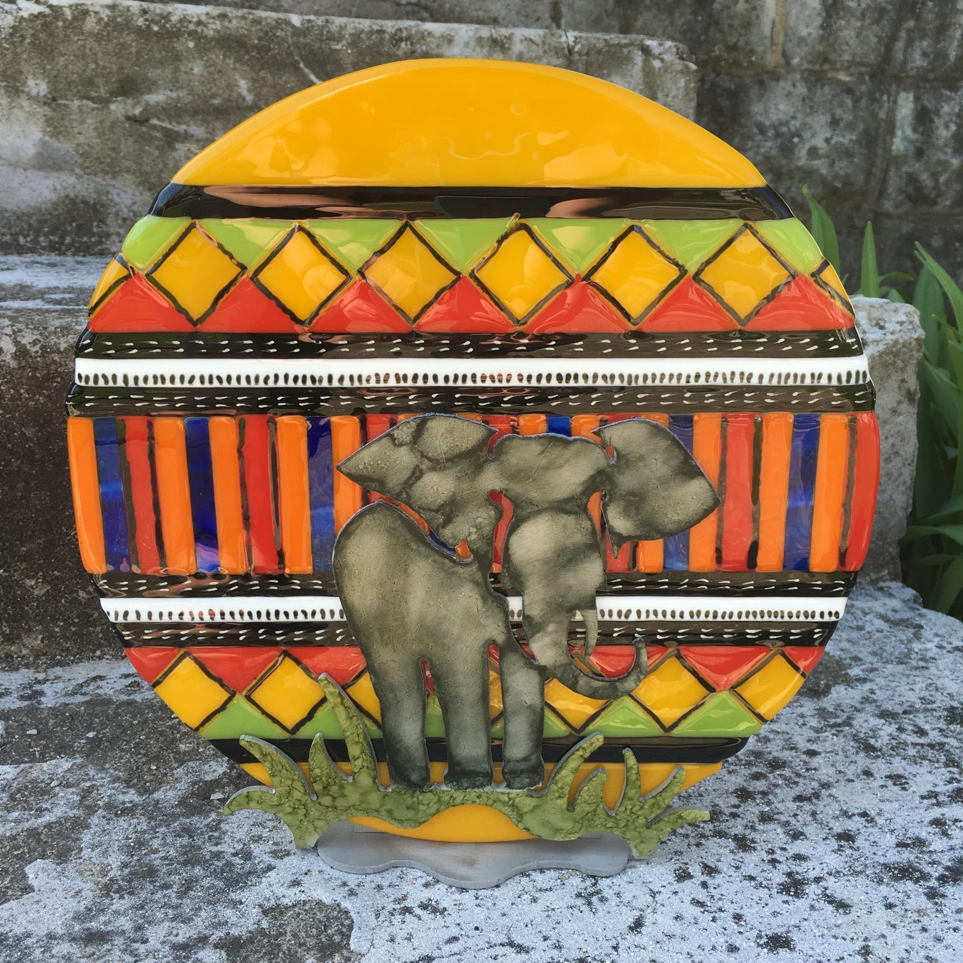 Kente Cloth Elephant
