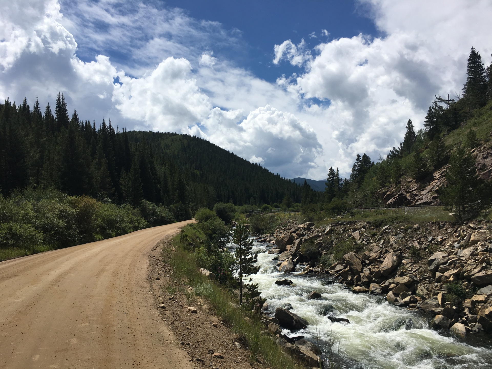 Chasing the Mountains: Getting over the Continental Divide