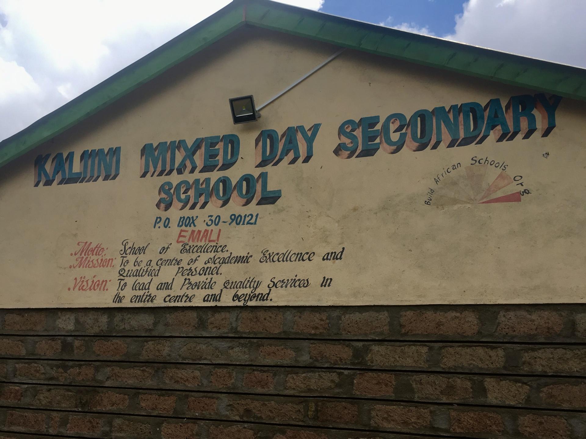 Kenya: Kaliini Primary School and UPS