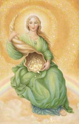 goddess abundantia,goddess of prosperity and good fortune