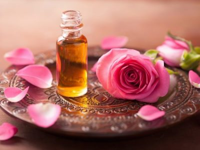rose absolute essential oil used in love and protection.